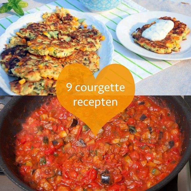 9 courgette recepten