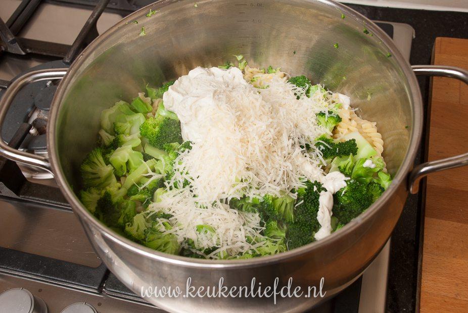 Pasta-ovenschotel met vis en Boursin-9865