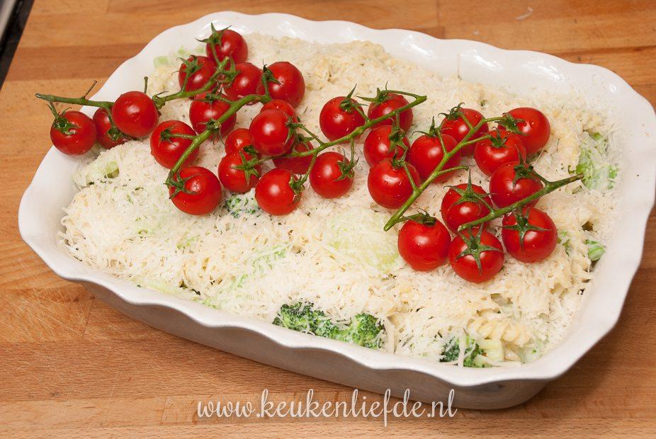 Pasta-ovenschotel met vis en Boursin-9867