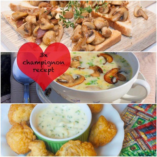 3x champignon recept