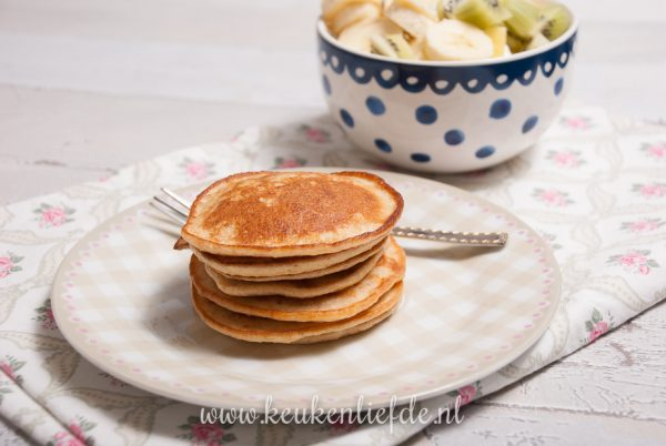 Pannenkoekjes met yoghurt