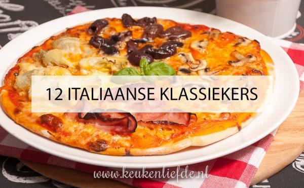 12 Italiaanse klassiekers!