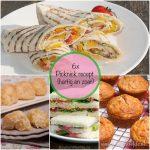 6x picknick recept