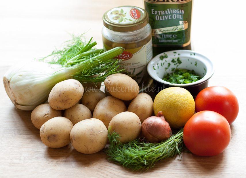Aardappel-venkelsalade met zalm-1866