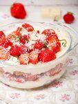 Aardbeien-tiramisu