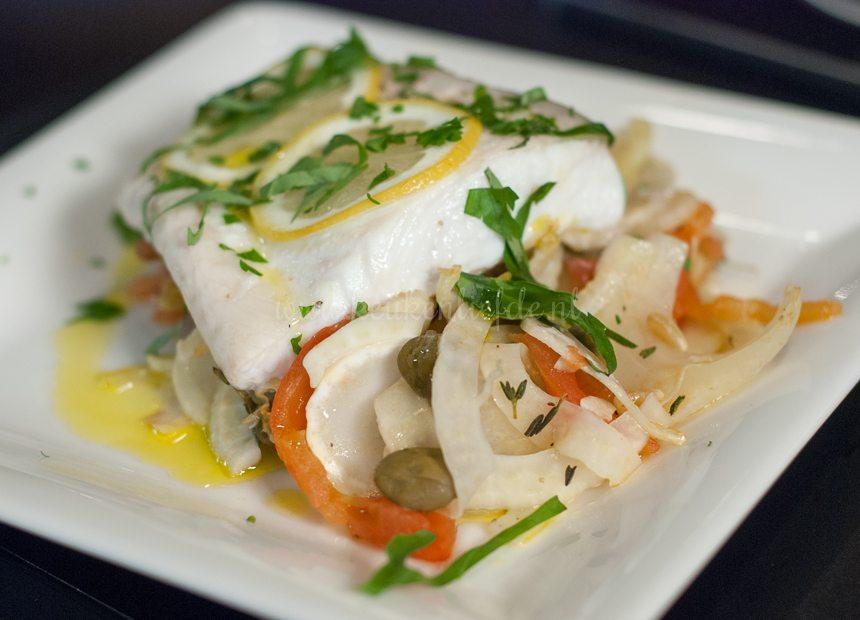 Siciliaanse vis uit de oven