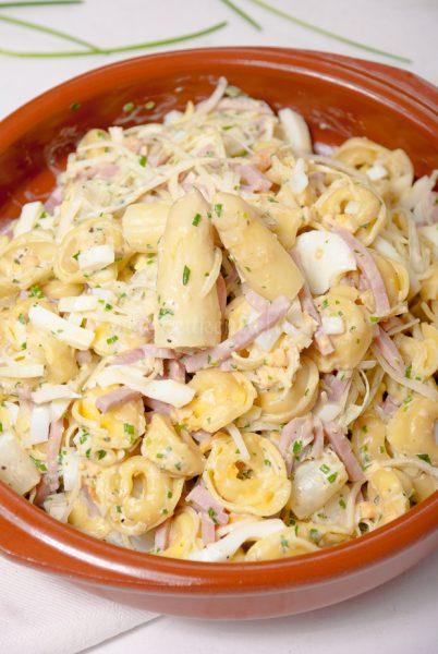 Tortellini salade met asperges