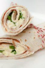 Wrap met kipfilet en camembert