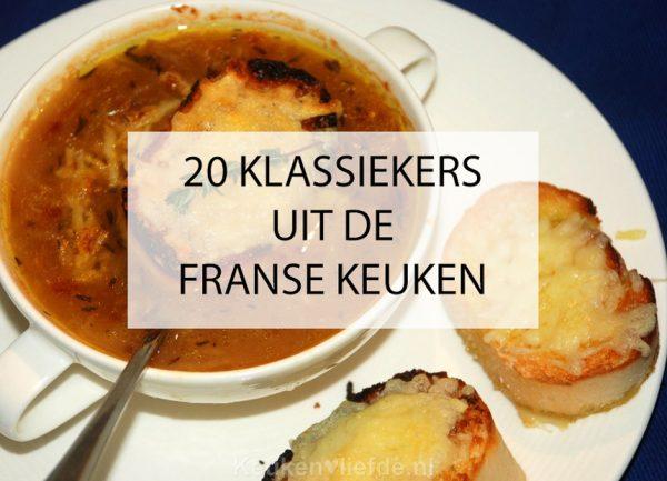 20 klassiekers uit de Franse keuken