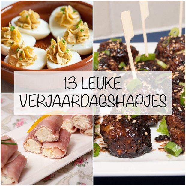 Magnifiek 13 verjaardagshapjes - Keuken♥Liefde &DI43