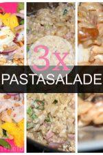 3x koude pastasalade