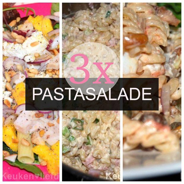 Lekker & Snel: 3x koude pastasalade