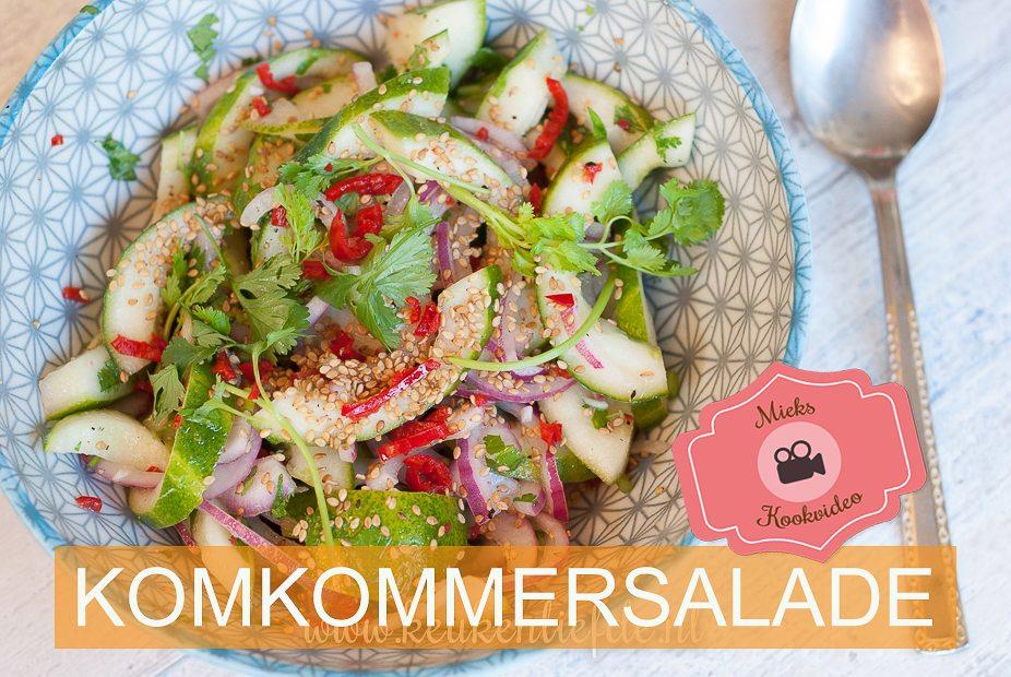 Video: komkommersalade