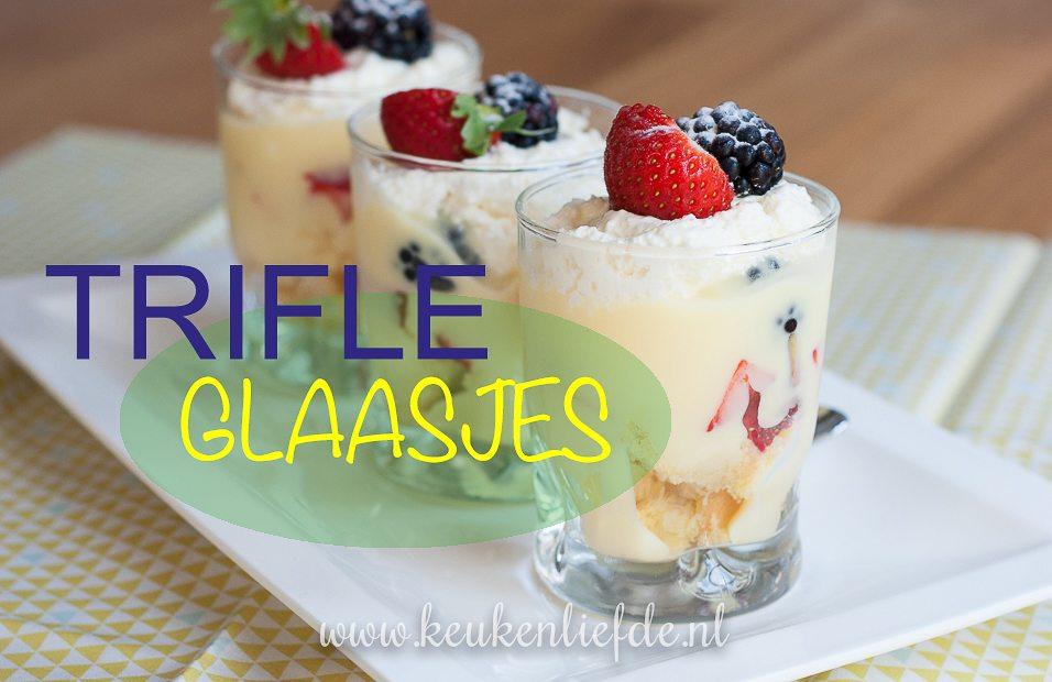 Engelse Keuken Voorgerecht : Trifle-glaasjes – Keuken?Liefde