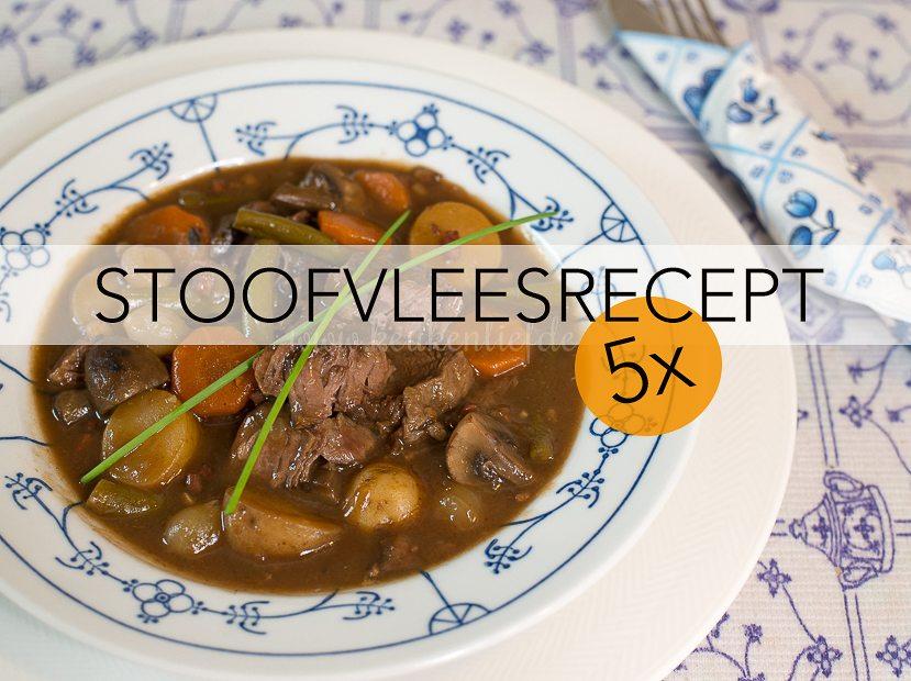 5x het lekkerste stoofvlees