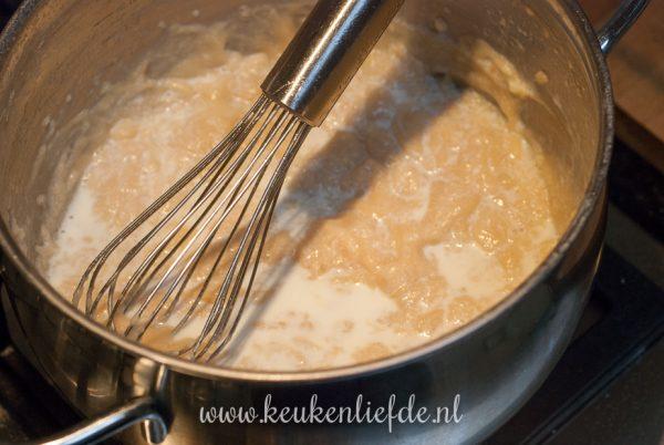 Koolrabi frietjes met een sausje