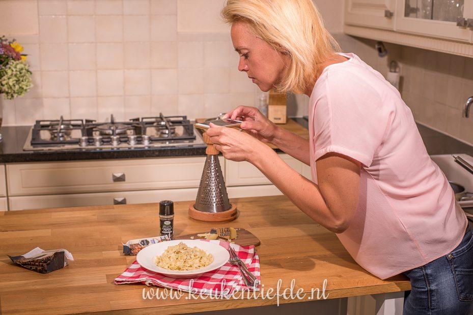 Pasta met KALTBACH Le Gruyère AOP en zwarte peper