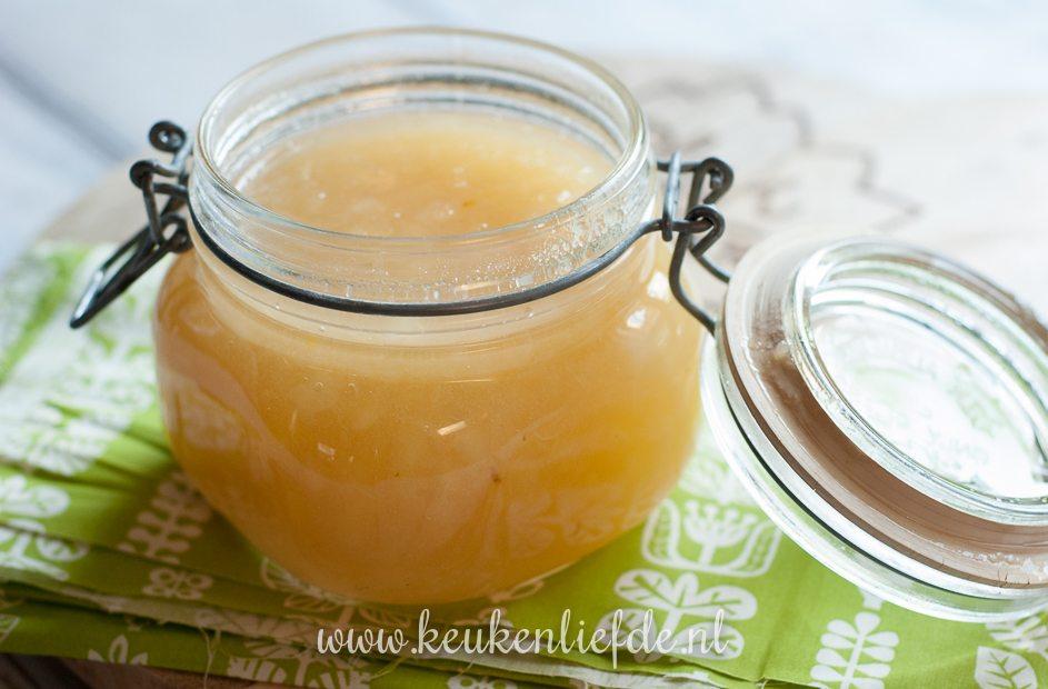 Perenjam met gember en vanille
