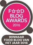 Bedankt voor het stemmen! KeukenLiefde is Foodblog van het jaar 2016!