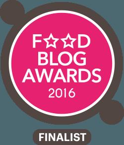 Bedankt voor het stemmen! KeukenLiefde is finalist van de Foodblog Awards 2016