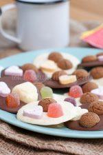 Chocoladeflikken met strooigoed