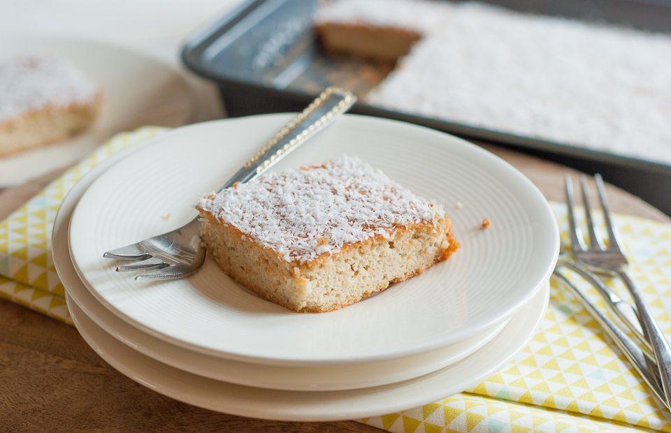 Glutenvrij genieten: Amandelcake met kokos