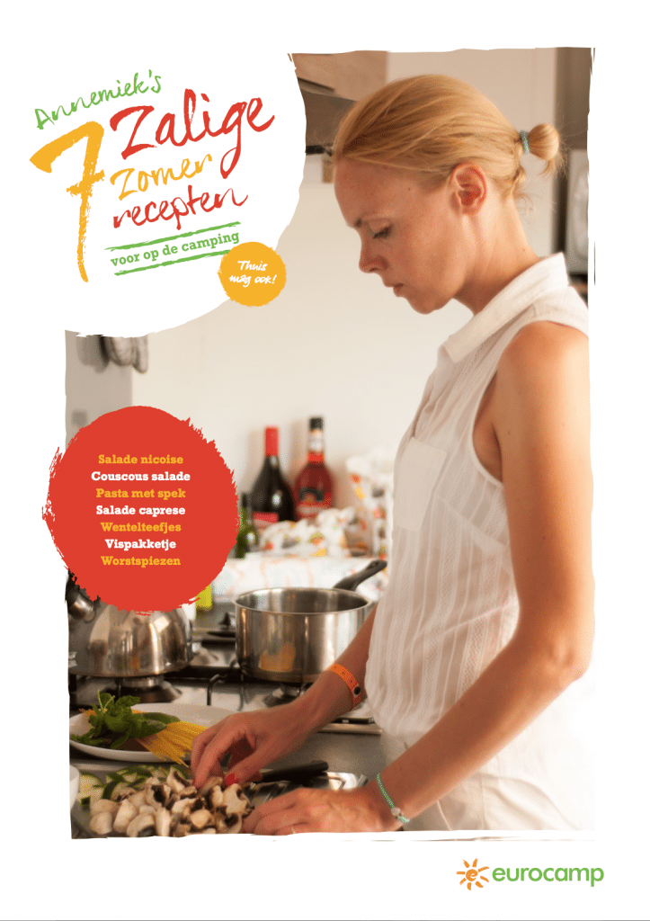 Koken op de camping + gratis receptenboekje!