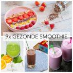 9x gezonde smoothie