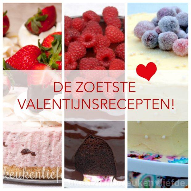 De zoetste valentijnsrecepten!