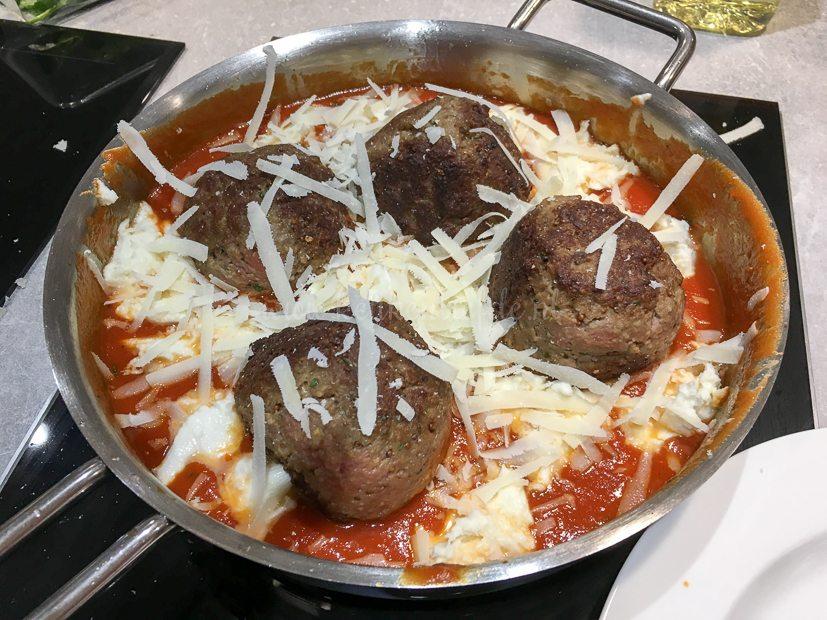 Gehaktballen parmigiano