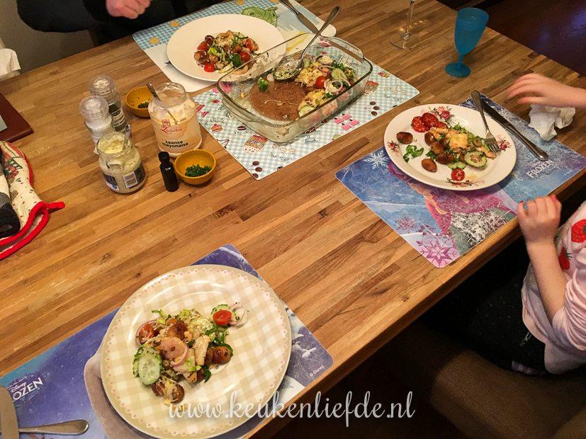 Een kijkje in de keuken week 8