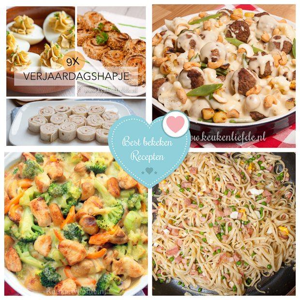 Best bekeken recepten week 11