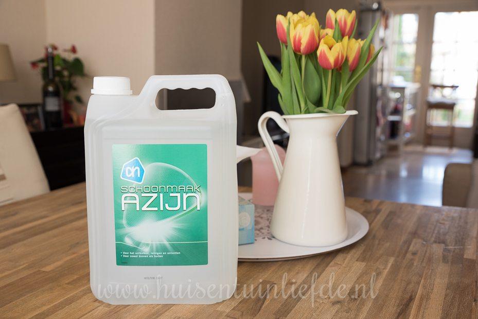 Huis- en TuinLiefde: 7 schoonmaaktips met schoonmaakazijn!