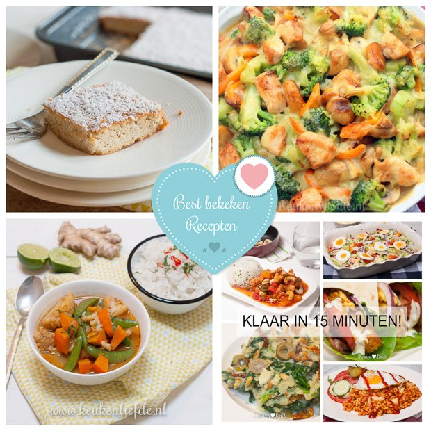 Best bekeken recepten week 9