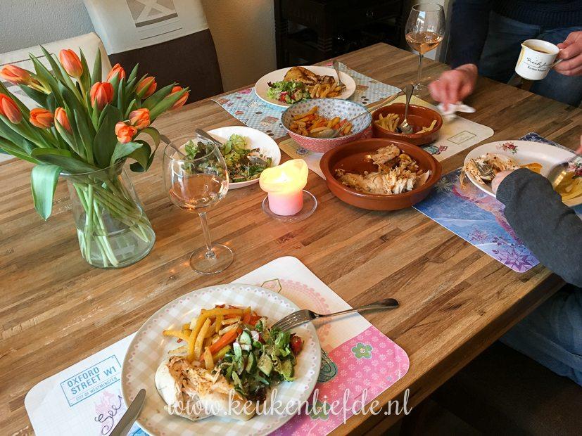 Een kijkje in de keuken week 12