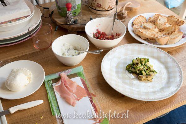 3x bruschetta recept