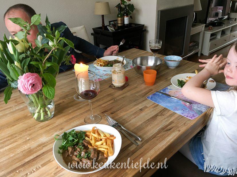 Een kijkje in de keuken week 16