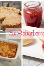 3x rabarberrecept