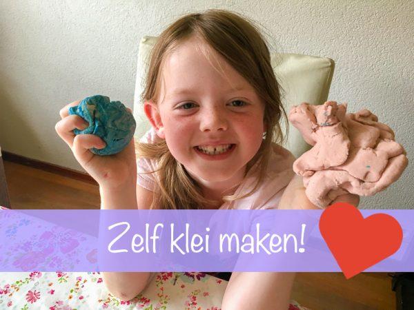 Nu op Huis- en Tuinliefde: zelf speelklei maken
