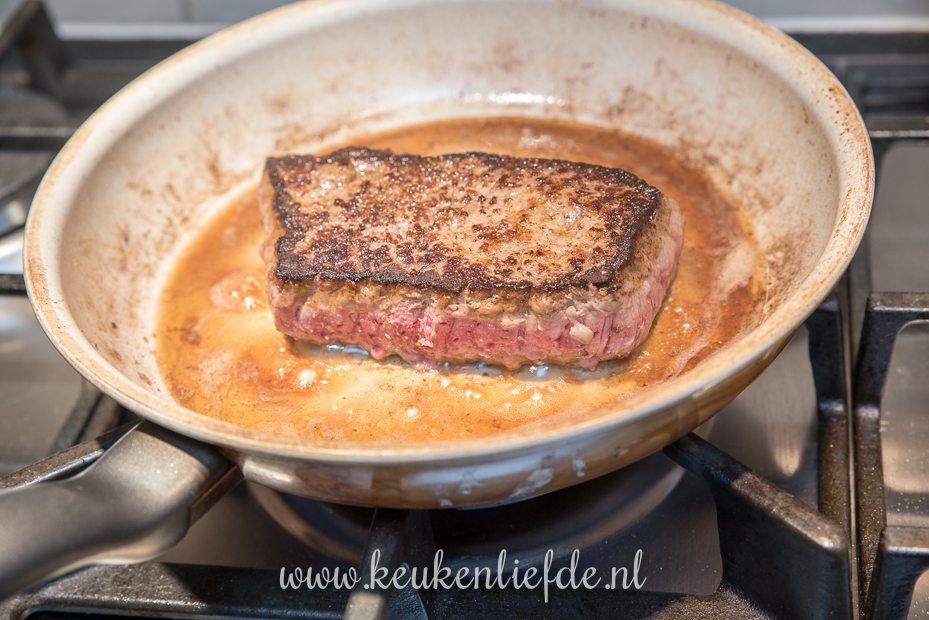 Italiaanse biefstuksalade