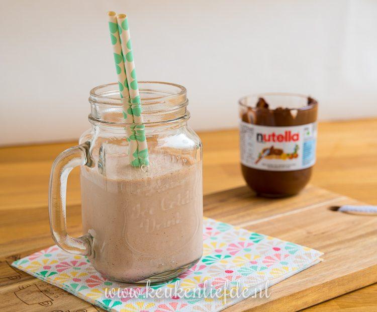 Nutella milkshake + kookfilmpje!