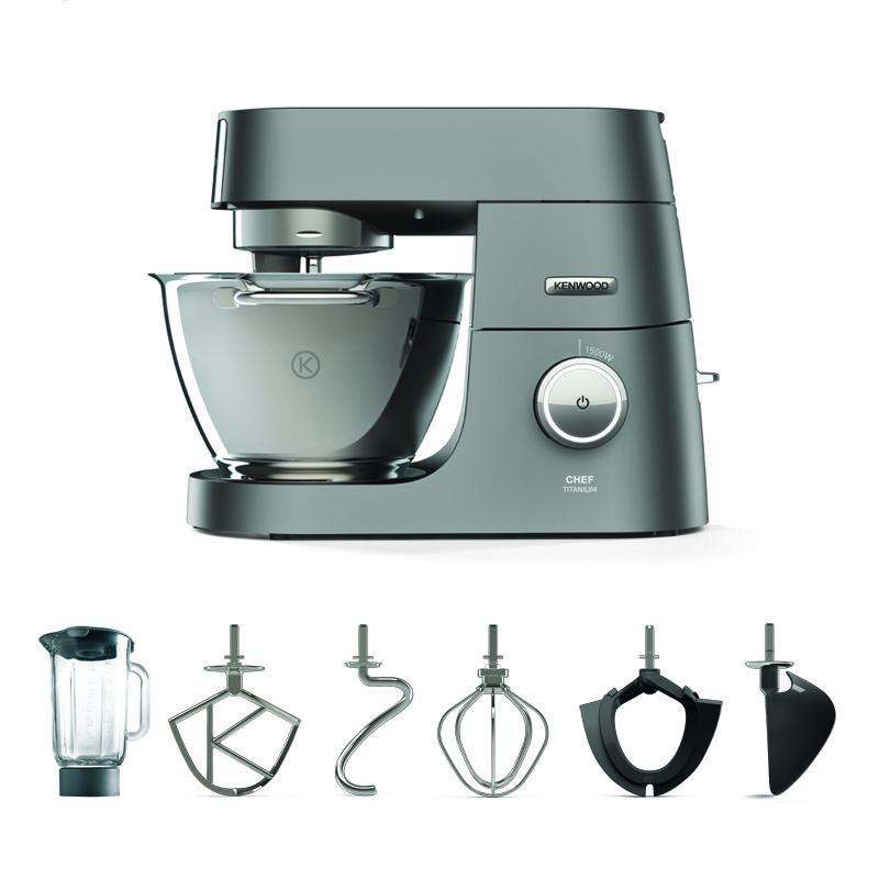 Win de Kenwood Chef Titanium-keukenmachine t.w.v. € 749