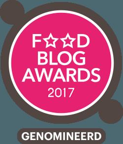 KeukenLiefde finalist Foodblog Awards 2017!