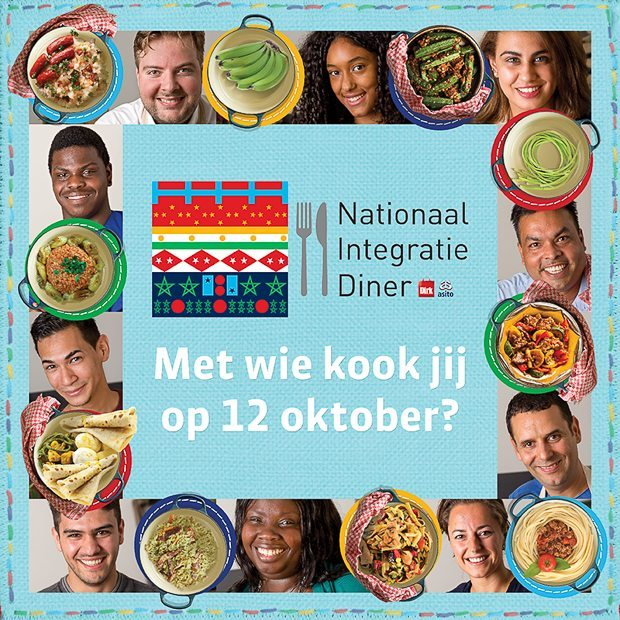 Het Nationaal Integratie Diner op 12 oktober - Doe mee!