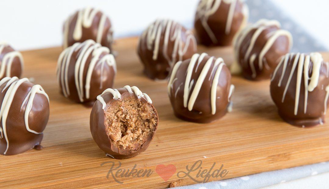 Kruidnoot truffels