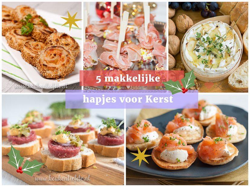 Magnifiek 5 makkelijke hapjes voor Kerst - Keuken♥Liefde #IT68