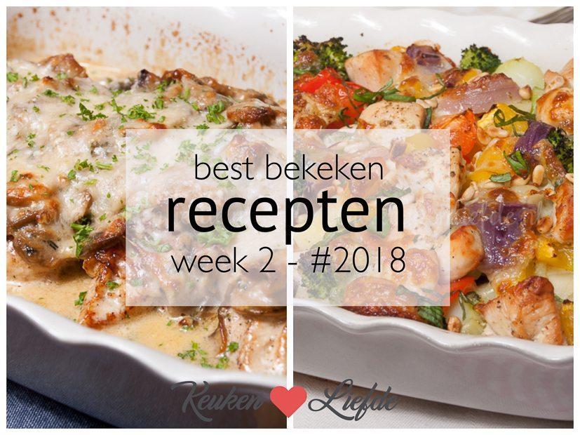 Best bekeken recepten week 2 - #2018