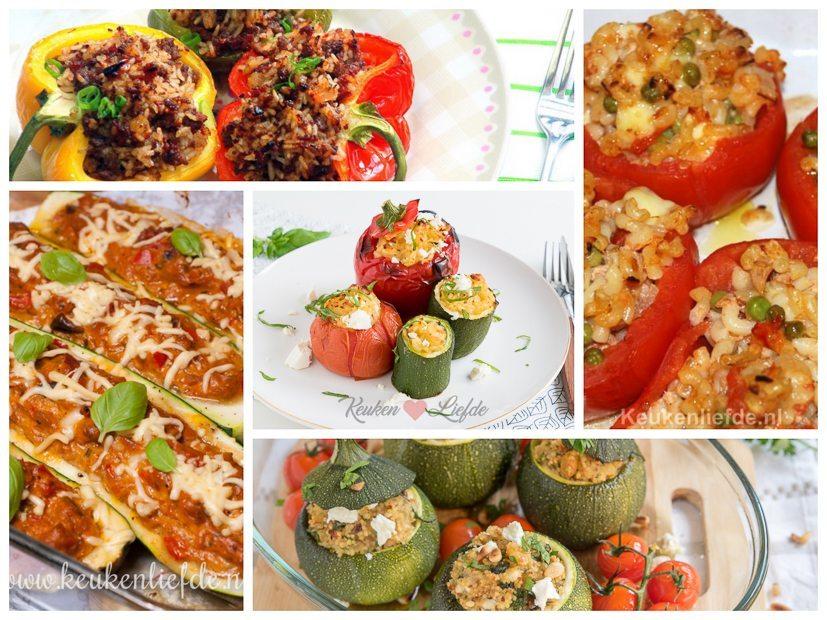5x gevulde groenten