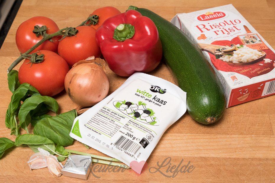 Gevulde groenten uit de oven