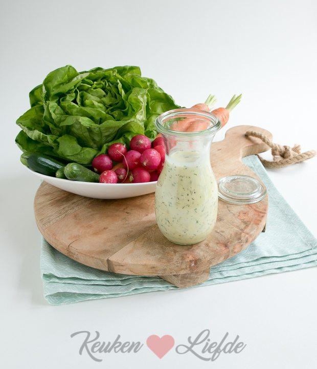 Yoghurt salade dressing